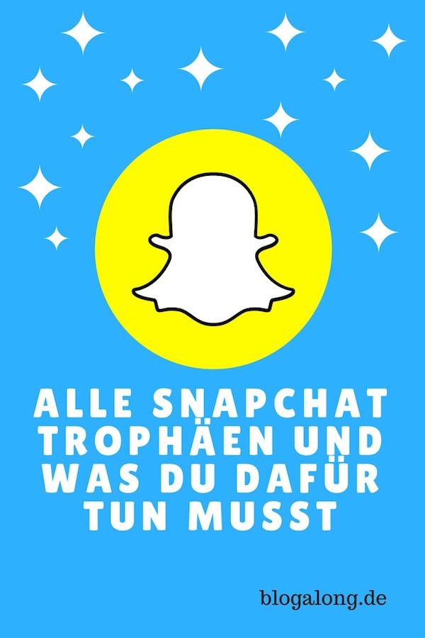 Alle Snapchat Trophäen