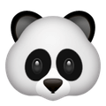 Snapchat Trophäen - Panda-Face