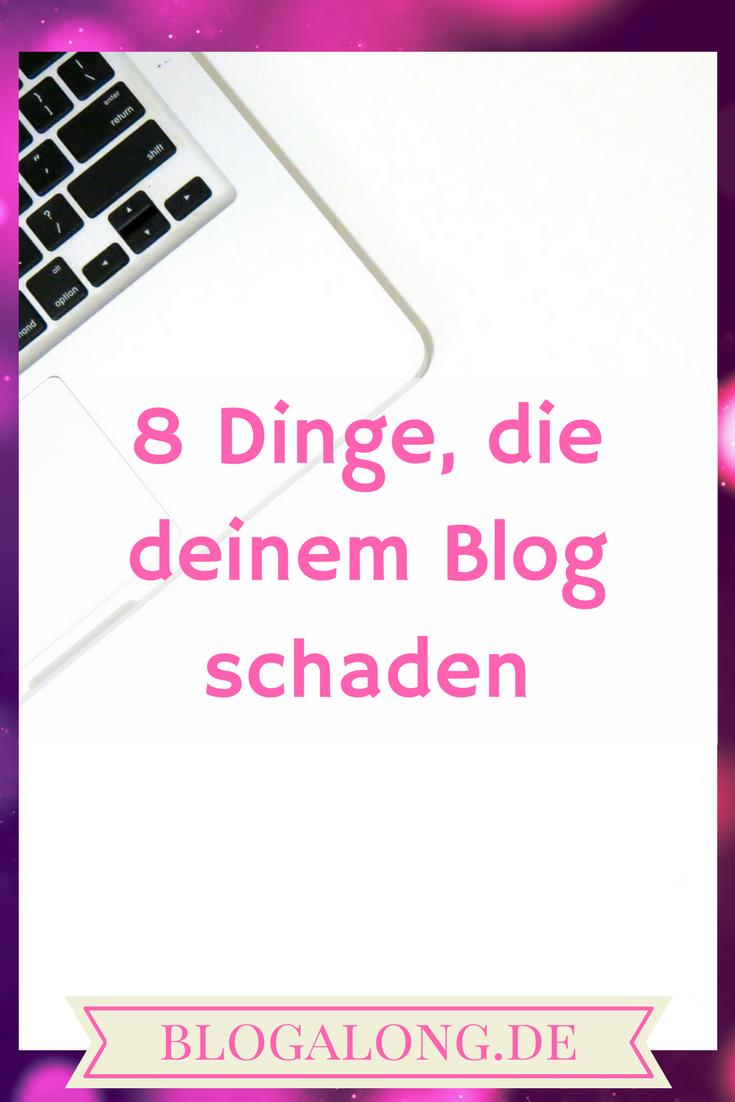 Blog schaden
