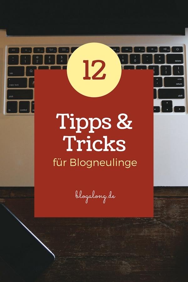 Tipps für Blogneulinge