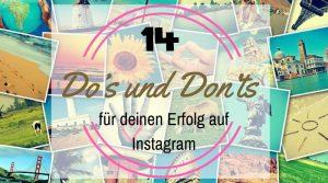 Erfolg auf Instagram
