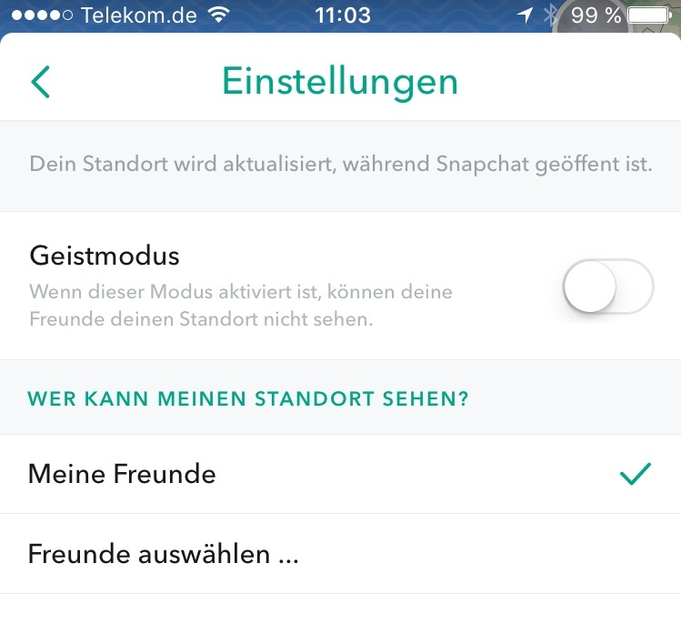 Snapchat - Snap Map