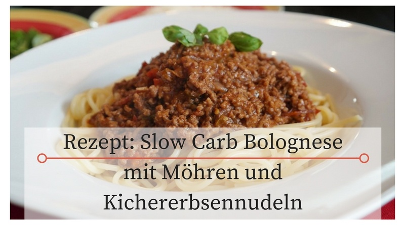 Slow Carb Bolognese