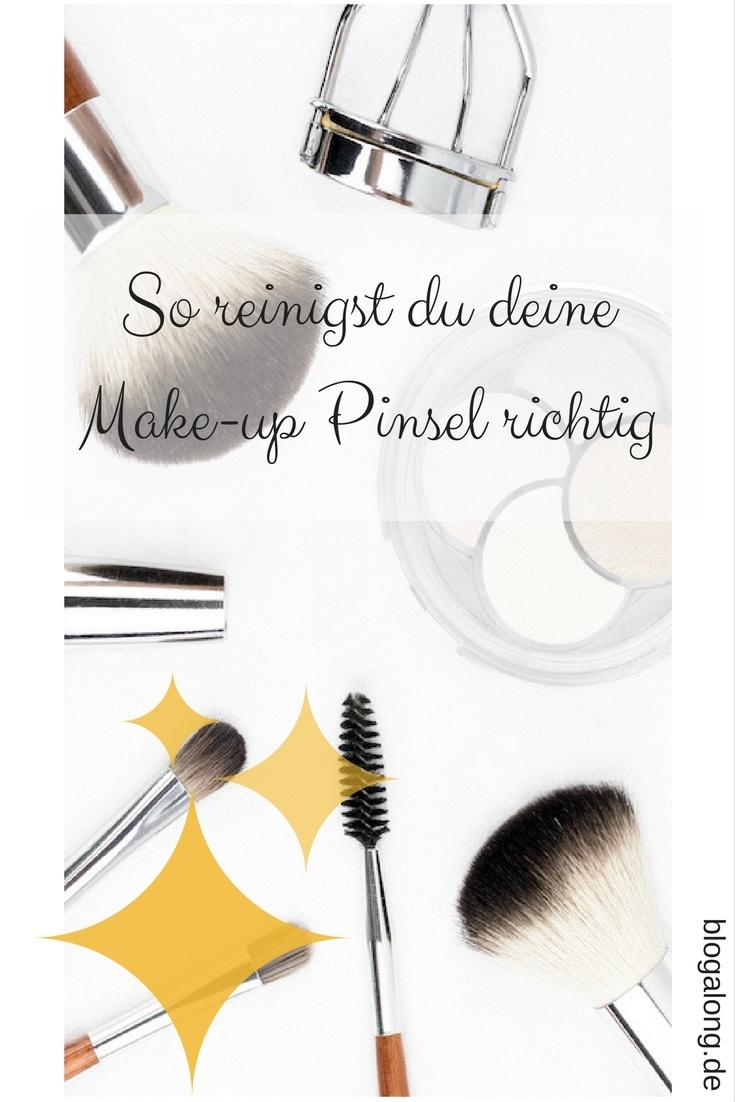 Make-up Pinsel reinigen