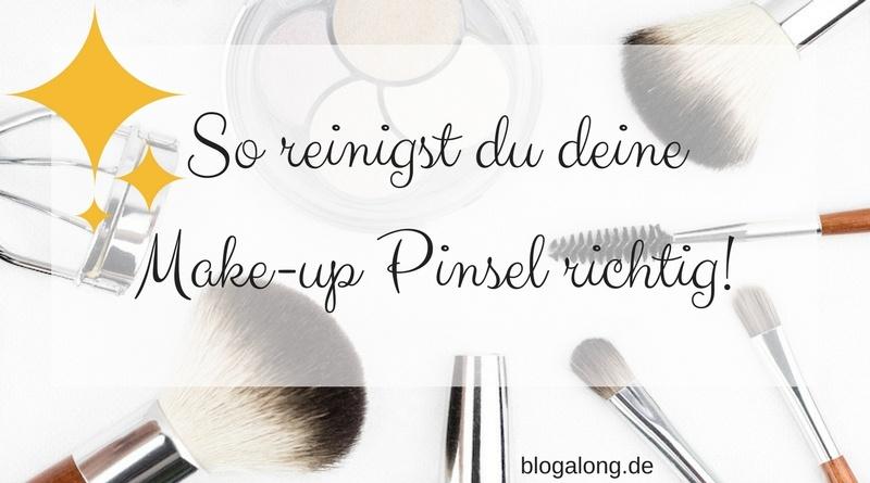 Make-up Pinsel richtig reinigen
