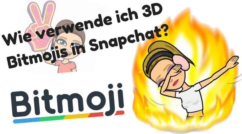 3D Bitmoji Snapchat