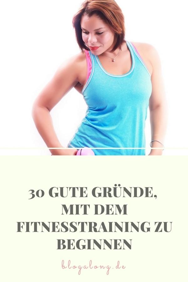 Fange heute noch mit dem Fitnesstraining an