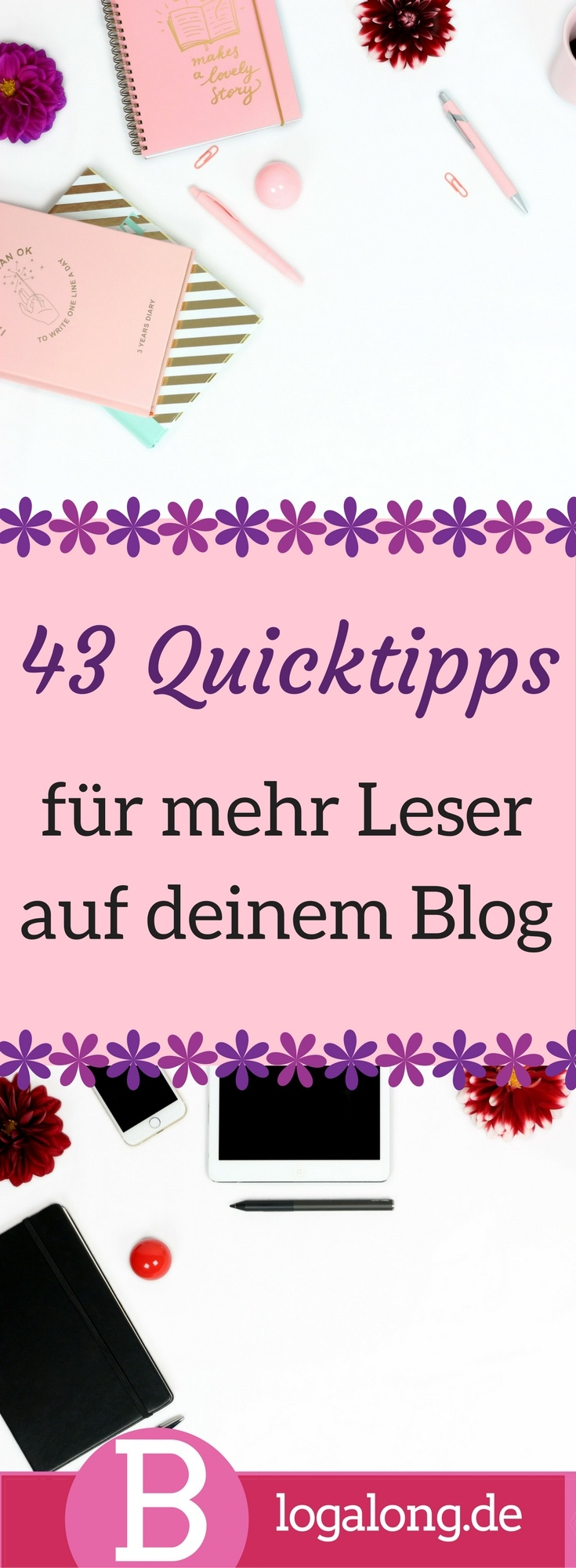 Tipps für mehr Leser auf deinem Blog