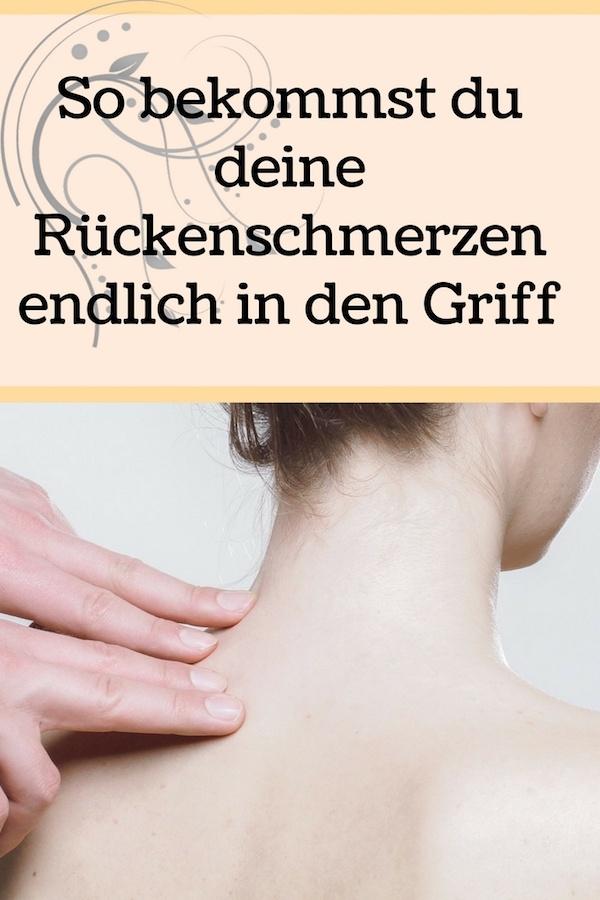 Rückenschmerzen in den Griff bekommen