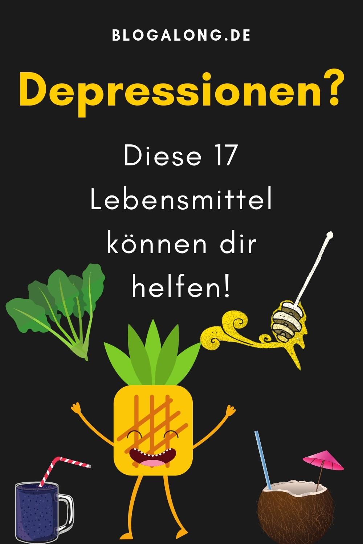 17 Lebensmittel, die dir bei Depressionen helfen