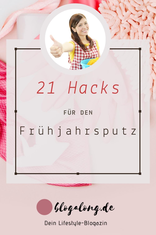 Frühjahrsputz - 21 Hacks