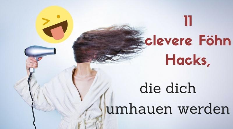 11 clevere Föhn Hacks, die dich umhauen werden. #Föhn #Hacks #Haushalt #Tipps #Tricks #Blogalong