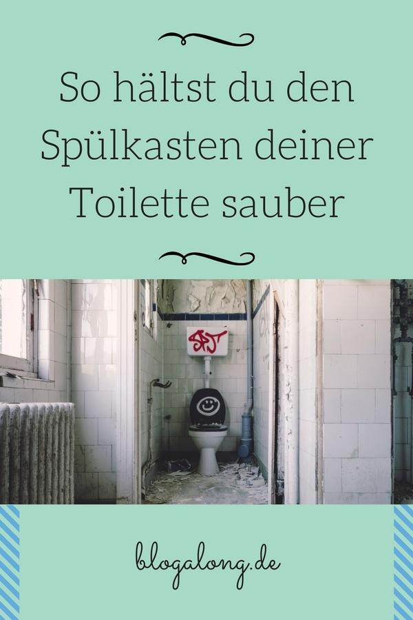 Spülkasten deiner Toilette hygienisch sauber reinigen