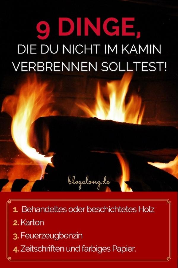 Ein Kamin ist charmant und romantisch, aber er kann auch eine Gefahrenquelle darstellen, wenn er nicht richtig gepflegt oder richtig benutzt wird. 9 Dinge, die du nicht im Kamin verbrennen solltest #haushalt #winter #kamin #wärme #gefahren #tipps #hacks #blogalong