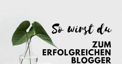 Erfolgreich bloggen - so gehts