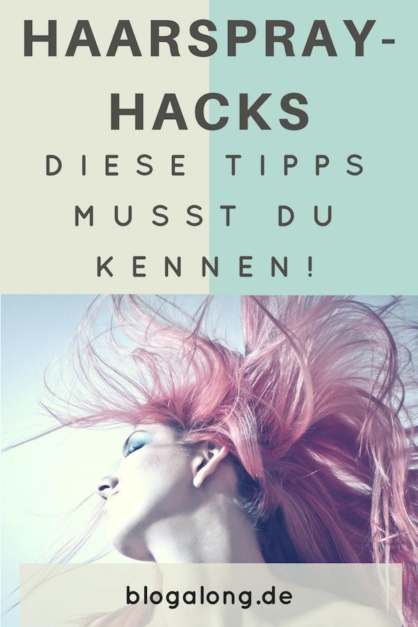 9 Haarspray Hacks, die du kennen musst!