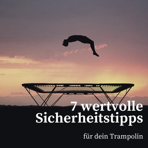 Trampolin - Sicherheitstipps