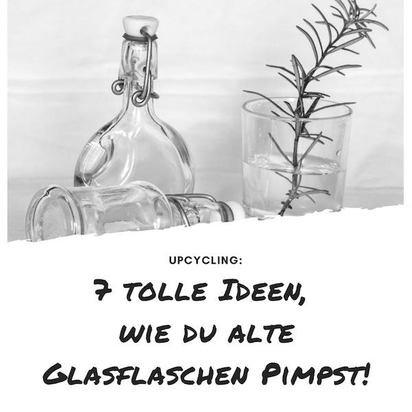 Glasflaschen pimpen