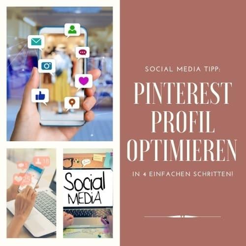 Pinterest Profil optimieren