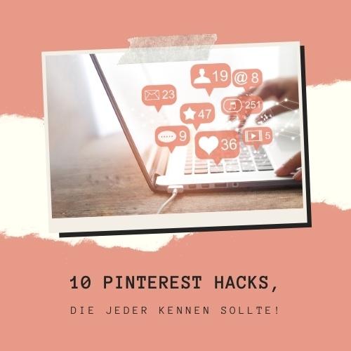 Diese Pinterest Hacks solltest du kennen