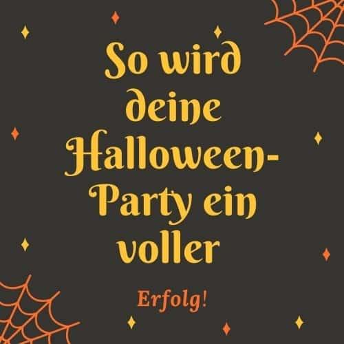 Halloween Party organisieren