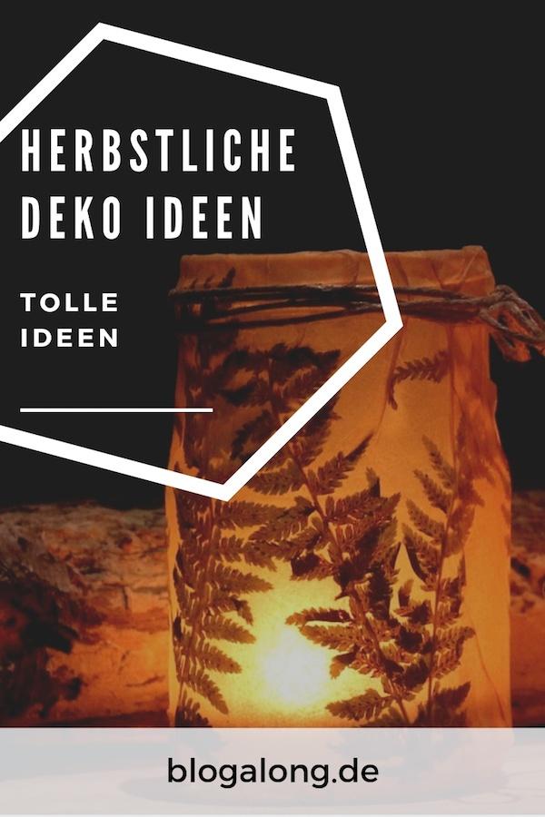 Deko Ideen im Herbst