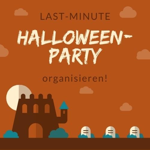 So organisierst du in letzter Minute eine Halloween Party