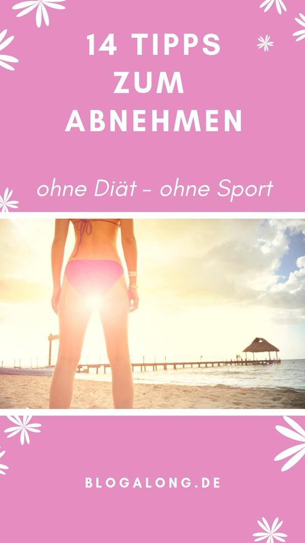 So leicht kannst du ohne Sport und Diät abnehmen