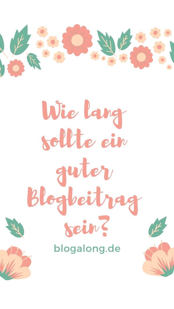 Ist die Länge eines Blogposts entscheidend?