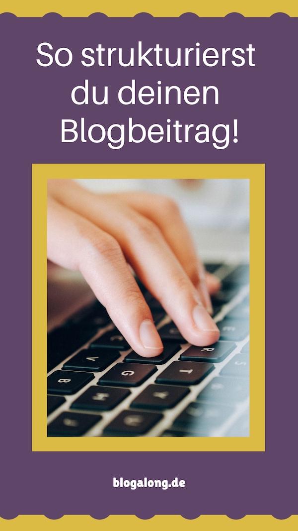 In 5 einfachen Schritten einen Blogbeitrag strukturieren