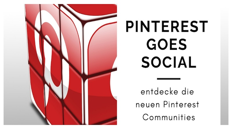Neues Feature: Pinterest Communities