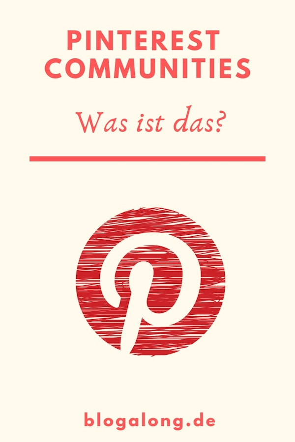 Neues Feature auf Pinterest - Communities