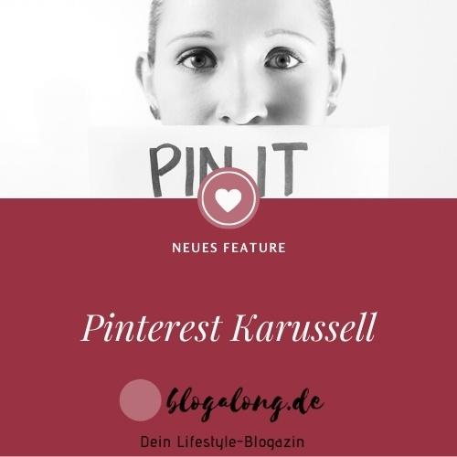 Neu bei Pinterest - Karussell
