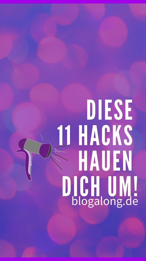 11 clevere Föhn Hacks