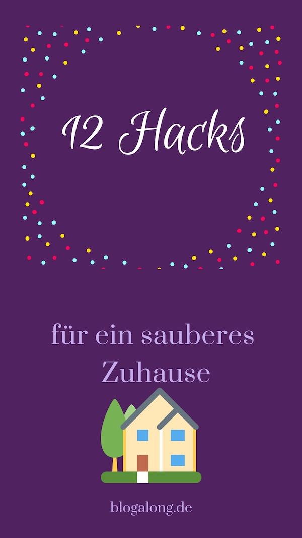 Diese Tricks zaubern dir ein sauberes Zuhause. 12 brillante Hacks für ein sauberes Zuhause #haushalt #tipps #tricks #hacks #putzen #reinigen #blogalong