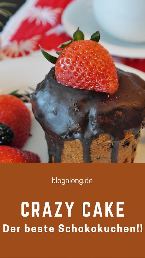 Crazy Cake: der beste und einfachste Schokoladenkuchen – vegan