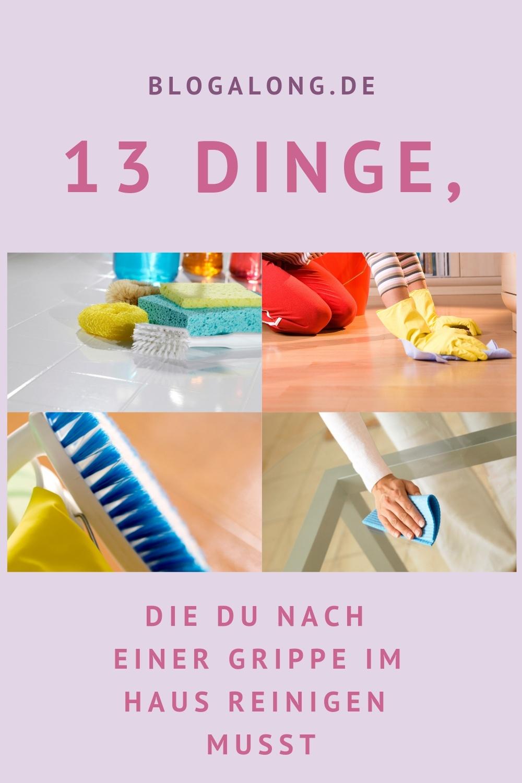 13 Dinge, die du nach einer Grippe im Haus reinigen musst