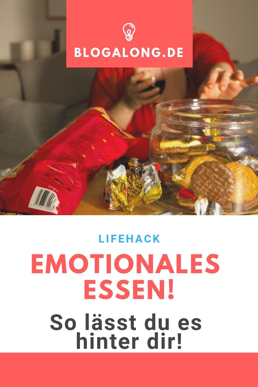 Leidest du unter Junk Food und schlechter Ernährung? Dann solltest du dir meine 6 Tipps gegen emotionales Essen durchlesen. Ich bin mir sicher, dass du danach alles klarer siehst! #emotionales #essen #emotionen #gesundheit #fitness #schlank #diät #abnehmen #mental #blogalong