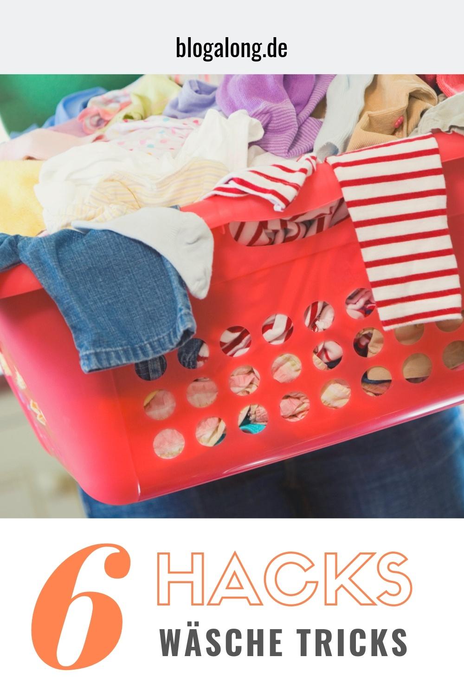 Zeitsparende und effektive Wäschehacks, die dir den Haushalt erleichtern! #wäschehacks #lifehacks #hacks #wäsche #haushalt #putzen #putzhacks #aufräumen #blogalong