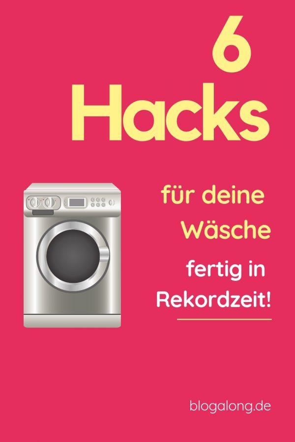 6 Wäschehacks