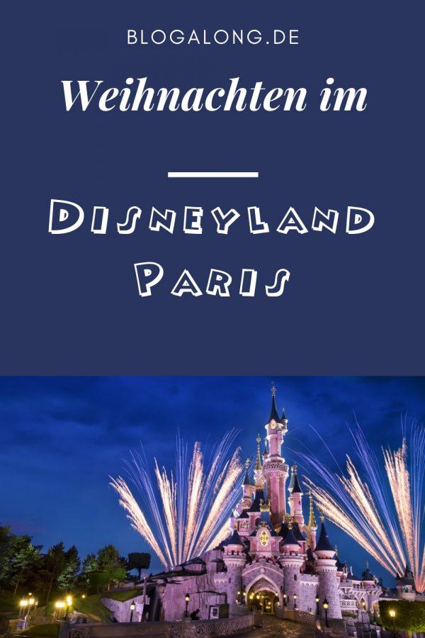 Disneyland Paris an Weihnachten