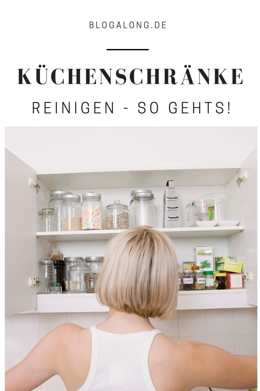 Küchenschränke reinigen - so gehts