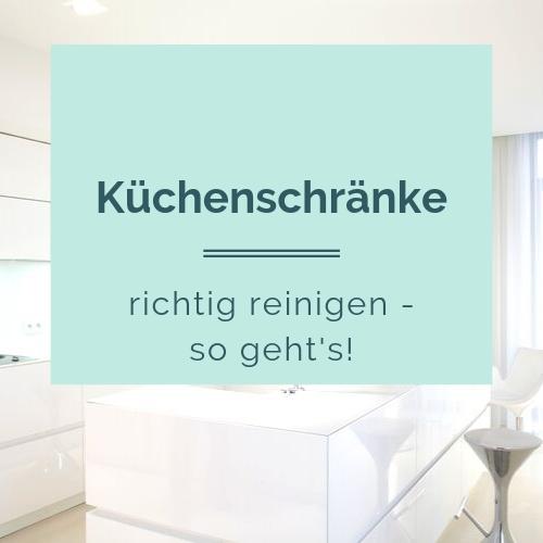 So einfach kannst du deine Küchenschränke reinigen