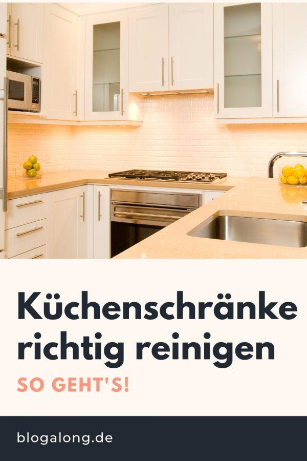 Küchenschränke richtig reinigen