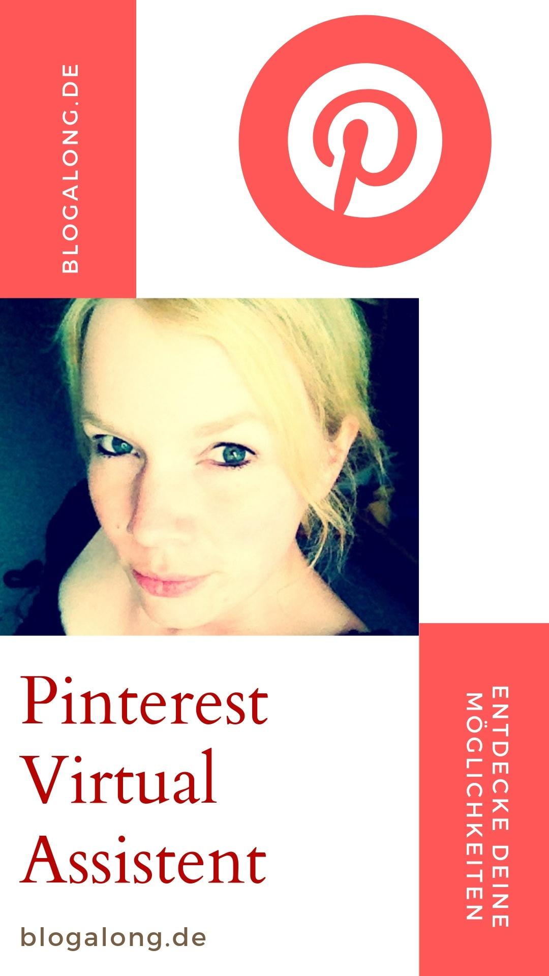 Arbeite mit mir zusammen: Pinterest Virtual Assistant