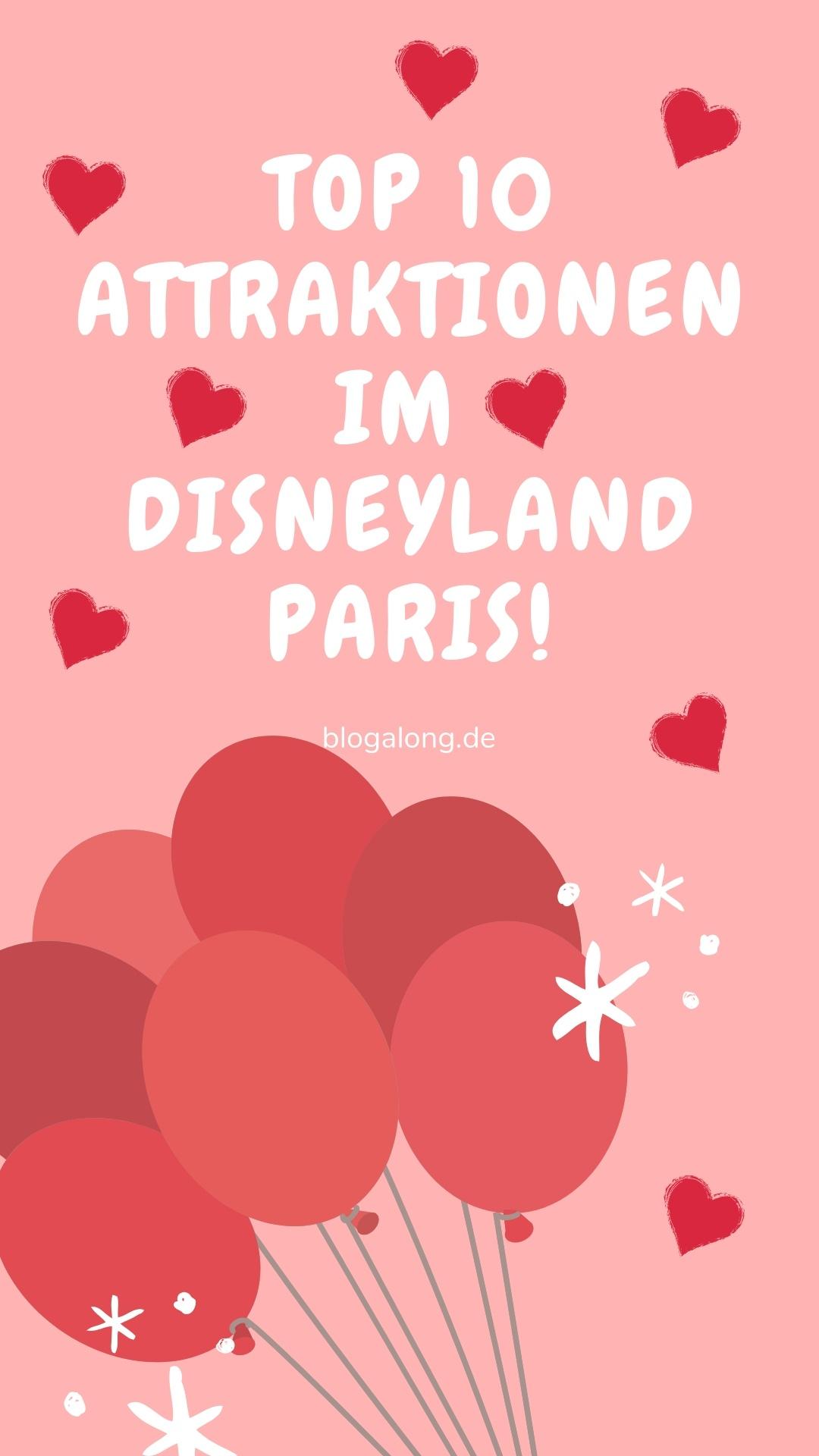 Egal, ob du das erste Mal das Disneyland Paris besuchst oder ob du schon mehrmals hier warst, kennst du es sicher, wenn man sich nicht entscheiden kann, welche Attraktion man zuerst besuchen soll. Gerade mit über 50 großartigen Attraktionen ist es nicht immer einfach, sich zu entscheiden. #disneyland #disneylandparis #disney #blogalong