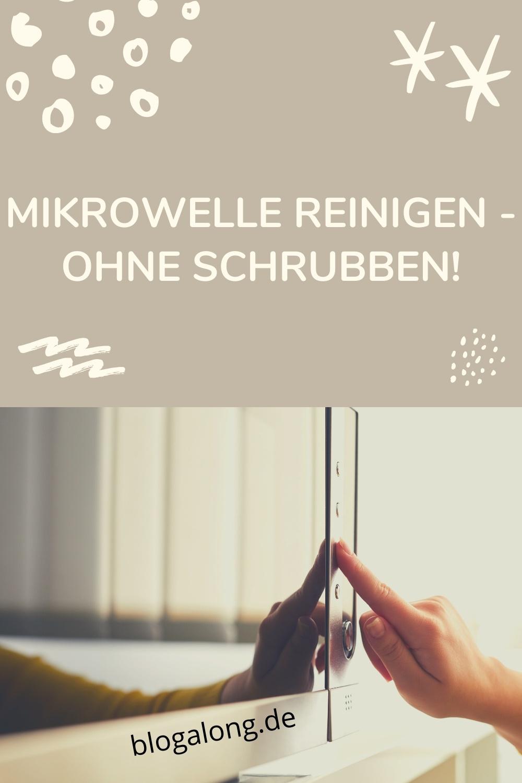 Mikrowelle reinigen – ohne Schrubben
