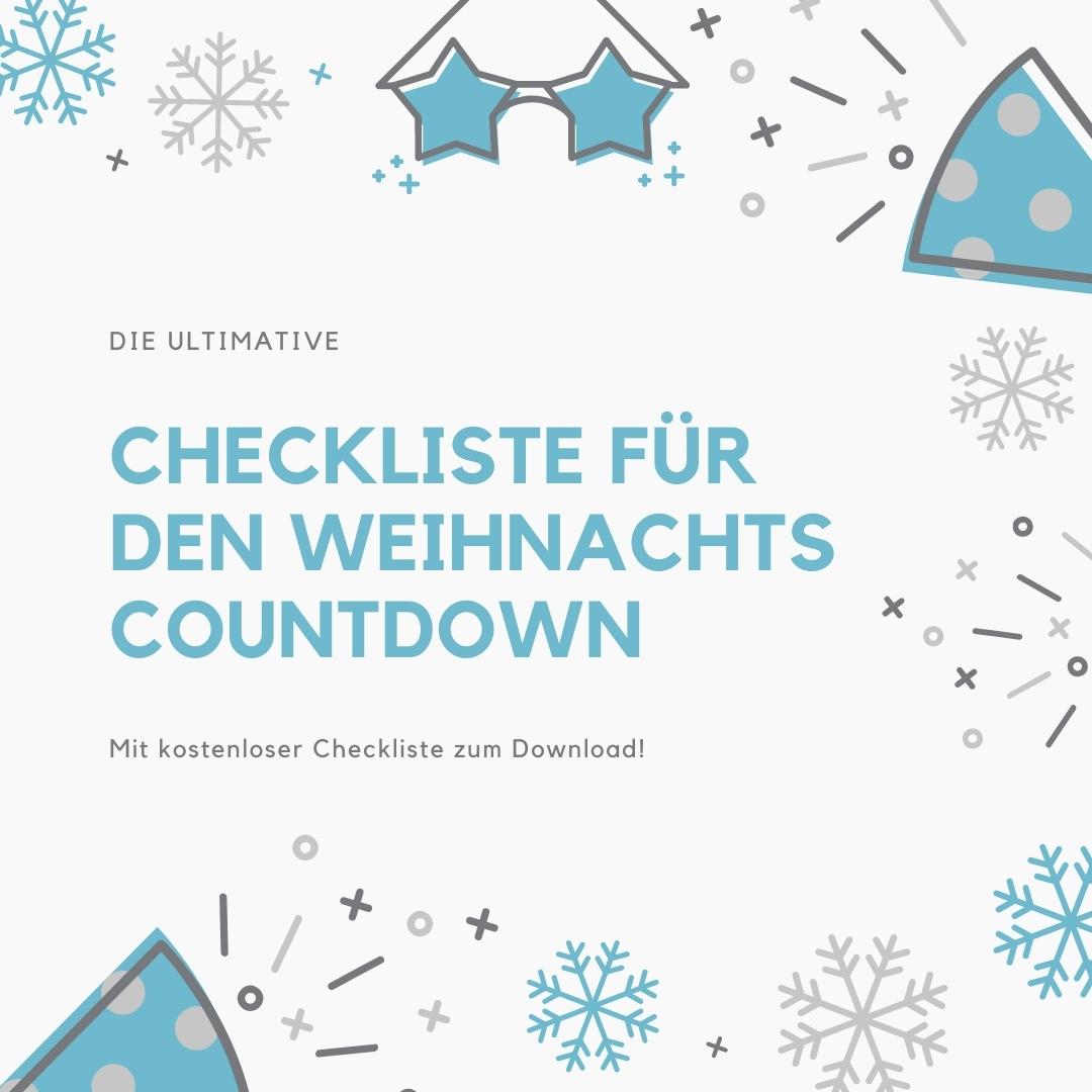 Kostenlose Checkliste für Weihnachten