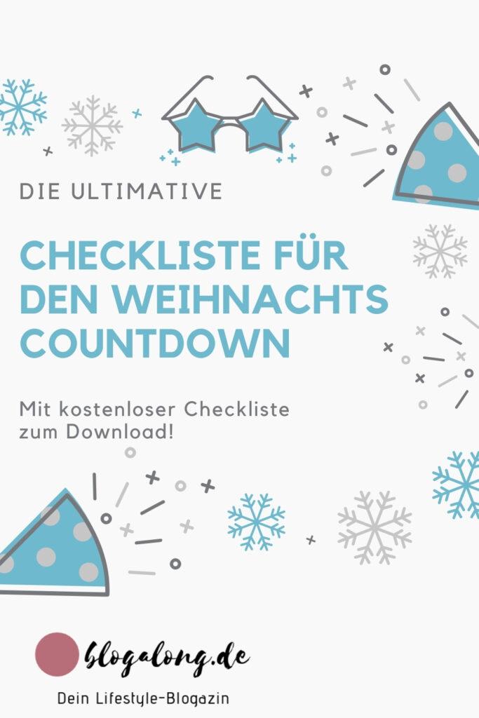 Die kostenlose Checkliste für Weihnachten
