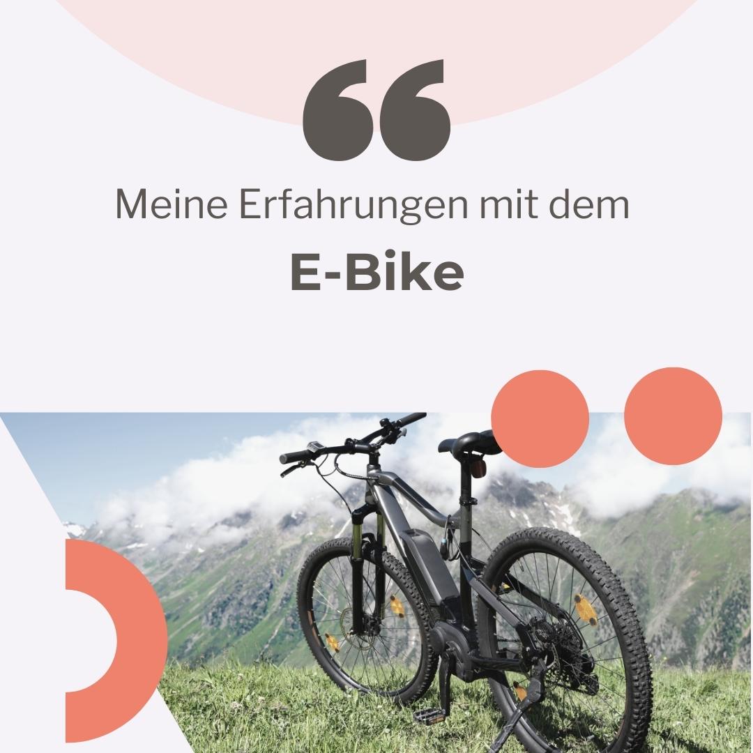 E-Bike kaufen - ja oder nein?